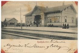 Kuokkala  . P. Used Russia To Cuba St Petersburg . Spots In The Corners - Finlande