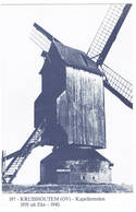 Kruishoutem, Eke : Kapellemolen ( 2 Scans) - Kruishoutem