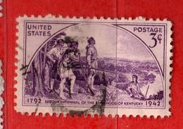 (Us2) USA °- 1942 - Yvert. 456.  USED.   Vedi Descrizione - Etats-Unis