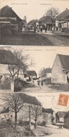 3 CPA:RAHON (39) RUE DU BOIS,RUE ROGUIER,GROUPE DE PERSONNES RUE DU BOIS.....ÉCRITES - France