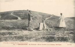 GERARDMER AU HOHNECK BORNE FRONTIERE ET LE TRAMWAY ELECTRIQUE - Gerardmer