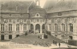 CHASSES A COURRE FORET DE SAINT FARGEAU JOUR DE SAINT HUBERT BENEDICTION DES CHIENS - Saint Fargeau