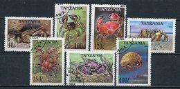 Tansania Nr. 1923/9       O  Used       (014) Krabben, Crabs - Crustacés