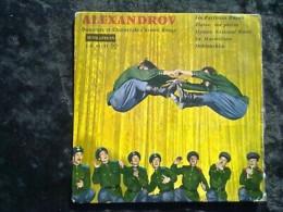 Alexandrov, Danseurs Et Choeurs De L'armée Rouge/ 45T Supraphon E.P. 30 181 - Klassik