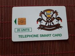 Uganda Phonecard 20 Units Used 125.000 EX  Rare - Uganda