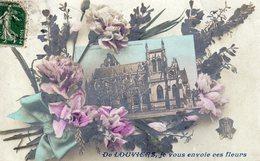 DPT 27 De LOUVIERS Je Vous Envoie Ces Fleurs - Louviers