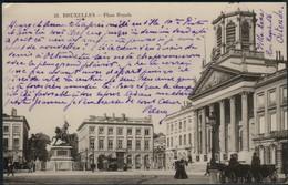 BRUXELLES :   Place Royale - Avenues, Boulevards