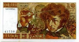 Billet De 10 Francs BERLIOZ - 1962-1997 ''Francs''