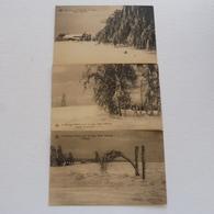 BARAQUE MICHEL -  Sous La Neige Hiver 1925-1926 - Non Envoyée - Jalhay