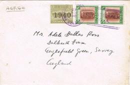31980. Carta Aerea GUATEMALA 1940 To England - Guatemala