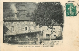 43 - ST JUSTES PRES BRIOUDE - HAUTE LOIRE - MOULIN DE LIGEAC - VOIR SCANS - Sonstige Gemeinden