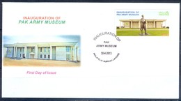 K252- FDCs Of Pakistan Inauguration Of Pak Army Museum. - Pakistan
