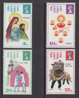 1973 Fiji Festivals Christmas Ramadan Chinese New Year Complete Set Of 4 MNH - Fiji (1970-...)