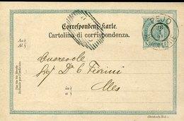 43090 Austria, Stationery Card 1901 Circuled Von Pejo Antica Fonte To Cles Trento - 1850-1918 Empire