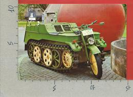 CARTOLINA NV GERMANIA - Deutsches Museum Munchen - NSU Kettenkrad 1941 - 10 X 15 - Cartoline