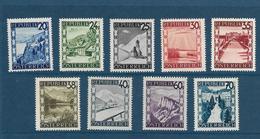 Timbres Neufs** D'autriche, N°612-15, 317-619, 624 Et 626 Yt, Paysages - 1945-60 Neufs