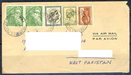K262- Old & Rare Postal Used Cover. Post From Greece To Pakistan. - Greece
