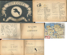 30th Corps In Germany - Livres, Revues & Catalogues