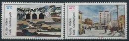 1986 Cipro Del Nord, Artisti Contemporanei, Serie Completa Nuova (**) - Nuovi