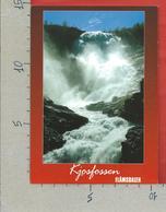CARTOLINA NV NORVEGIA - KJOSFOSSEN - Utsikt Fra Flamsbanen - 10 X 15 - Norvegia