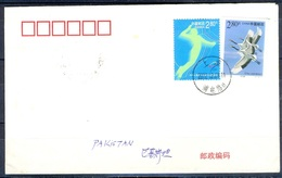 K266- Postal Used Cover. Post From China To Pakistan. Sports. Birds. - China