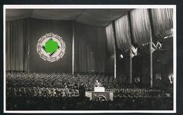 Foto AK/CP Reichsparteitag Nürnberg  Propaganda  Nazi  Ungel/uncirc. 1933-38   Erhaltung/Cond. 2  Nr. 00587 - Guerra 1939-45