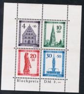 1949  März Wiederaufbau Baden Mi DE-FB BL1A Yt DE-FB BF2A Sg  DE-FB MS41a Postfrisch Xx - Französische Zone