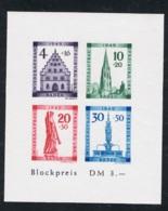 1949  März Wiederaufbau Baden Mi DE-FB BL1B Yt DE-FB BF2B Sg  DE-FB MS41b Postfrisch Xx - Französische Zone