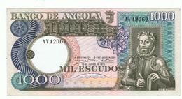 ANGOLA»1000 ESCUDOS»1973»PICK - 108 (A)»UNC - Angola