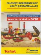 Petrom Gas Station - Romania - Ticket For Promotion, Voucher, Unused - Tickets D'entrée