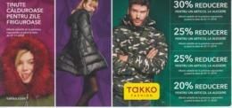 Romania - Fashion, Mode - Voucher For Discount - SEE VERSO - Tickets D'entrée