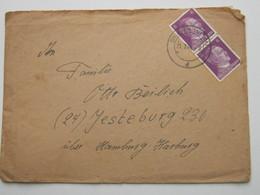 1944 , DRIESEN (Neum), Klarer Stemoel Auf Brief Mit Inhalt - Allemagne
