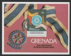 1980 Grenada 75th Anniversary Of Rotary International MNH** Y143 - Grenada (1974-...)