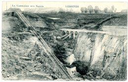 Lessines. La Carrière Des Sarts. Circulé En 1911. Lessen. Steengroeve Sarts. Verstuurd In 1911. - Lessines