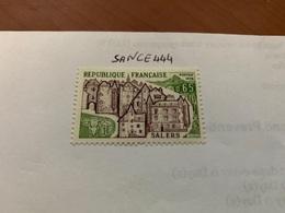France Architecture Salers Castle Mnh 1974 - France