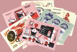 24 MINI Buvards De Collection - Buvards, Protège-cahiers Illustrés
