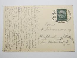 1941 , BRESLAU - Wien , Bahnpoststempel Auf   Karte - Allemagne