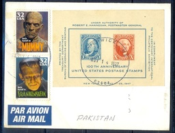 K277- Postal Used Cover. Posted From USA To Pakistan. - Postal History
