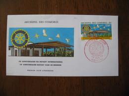 FDC  Enveloppe   Archipel Des Comores   1975   Moroni - Comores (1975-...)