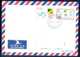 K287- Postal Used Cover. Posted From Turkey To Pakistan. UPU. - Turkey