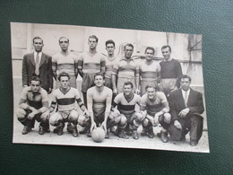 PHOTO EQUIPE  DE FOOT 06 AS CANNES  1945-1946 - Sports