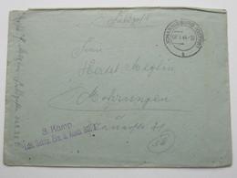 1944 , JOHANNISBURG (Ostpr.) , Klarer Stempel Auf Feldpostbrief Mit Truppensiegel + Inhalt - Allemagne