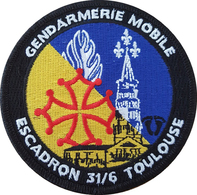 Gendarmerie Mobile -  Escadron 31/6 TOULOUSE - Police & Gendarmerie