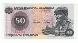 ANGOLA»50 KWANZAS»1979»BNAKNOTE C/A 895268»EF CONDITION»CIRCULATED - Angola