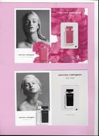 Carte De Narcisso Rodriguez 12cm X 15 Cm - Perfume Cards