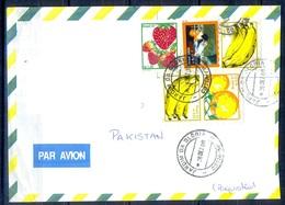 K297- Postal Used Cover. Posted From Brasil Brazil To Pakistan. - Brazil