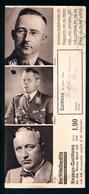 Militaria 2. Weltkrieg Foto Von Funktionären Im 3. Reich Auf Bezugs-Quittung Der Mitteldeutschen Zeitung Von 1938 - 1939-45