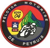 Gendarmerie - Peloton Motorisé PEYRUIS En PVC - Police & Gendarmerie