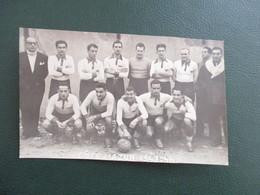 PHOTO EQUIPE DE FOOT COTE D'AZUR  1943-1944 - Sports