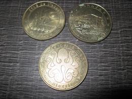Lot De Trois - Monnaie De Paris